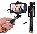 Features of Mystical Master™ Selfie Stick 1. ANDROID & IOS COMPATIBLE - It fits most devices ranging from 2.2 to 3.3 inches wide.  2. 270 DEGREE ADJUSTABLE HEAD  - helps you to take photos and videos from any angle. The Secret of Making People li...