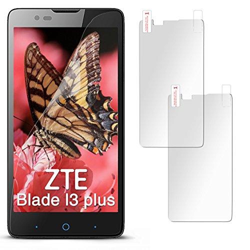 2X ZTE Blade L3 Plus | Schutzfolie Matt Display Schutz [Anti-Reflex] Screen Protector Fingerprint Handy-Folie Matte Displayschutz-Folie für ZTE Blade L3 Plus Displayfolie