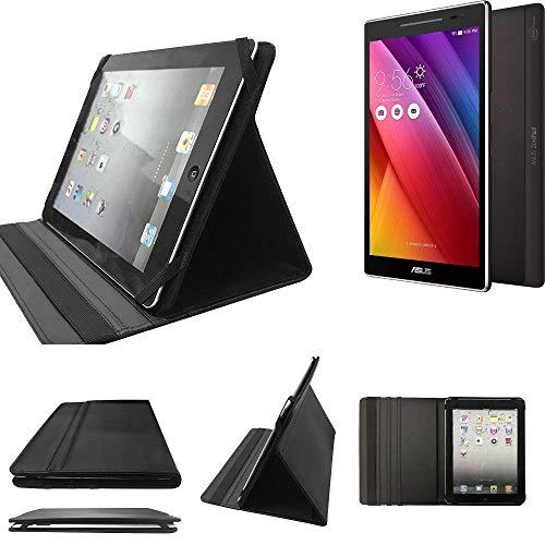 K-S-Trade Asus ZenPad S 8.0 Schutz Hülle Business Case Tablet Schutzhülle Flip Cover Ultra Slim Bookstyle Tasche für Asus ZenPad S 8.0, schwarz. Kunstleder Qualitätsware