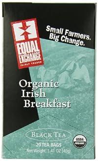 Equal Exchange Organic Irish Breakfast Tea, 20 Count (Pack of 6)