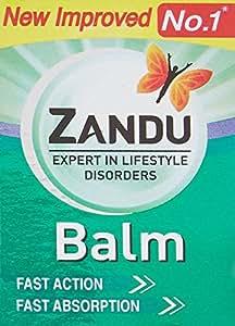 Zandu Balm - 8 ml + 1.6 ml Free