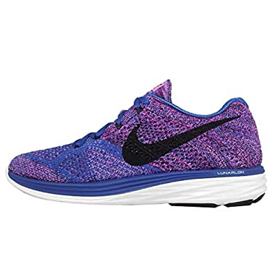 san francisco 06cc2 0b48a Wmns Nike Flyknit Lunar3 Purple Blue Womens Running 698182 405 UK 4 EUR  37.5 US 6.5  Amazon.co.uk  Shoes   Bags