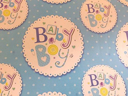 Geschenkpapier für A Baby Boy. Lovely Hohe Qualität Geschenkpapier mit Schild Design (Boy Papier Kontakt)