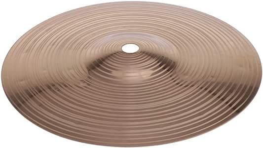 8 pouces B Baosity Cymbale Hi-Hat Pi/èces DInstrument de Percussion Rythmique de Haute Qualit/é Et Durables