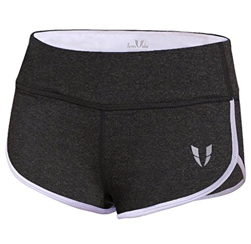 FIRM ABS Women Stretch Tight Body Trailing Workout Exercise Shorts Underwear (Tight Short Womens)