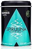Espirulina ecológica y orgánica de calidad Premium | 500 comprimidos de 500mg | 100% Natural con alta concentración de Proteína vegetal | Proporciona Energía y Vitalidad | Suplemento Saciante - Antioxidante - Detox - B12 | Vegano | Complemento alimenticio a base de alga BIO Spirulina para 100 días | Producto ético, sostenible y sin plástico |