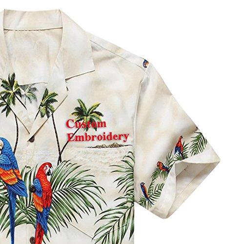 Hawaii-Hangover-camisa-hawaiana-camisa-x-grandes-blancos-de-los-hombres