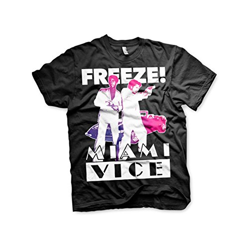 Mens Officially Licensed Miami Vice Freeze T-shirt