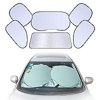 Eccovi il nuovo set parasole per parabrezza auto, offerto da GHB.Perché comprarlo? ✔ Set da 6 pezzi, uno per la parabrezza anteriore, un altro per la parabrezza posteriore e gli altri 4 pezzi per i laterali. ✔ E' flessibile per attorcigliarsi...