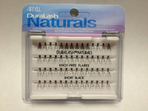 Ardell Duralash Naturals Flare Short Black (56 Lashes) by Ardell