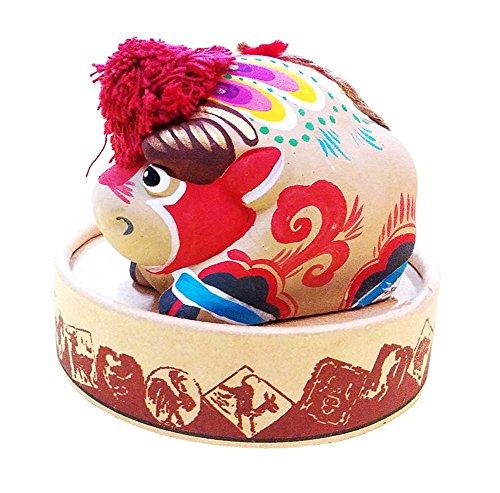Preisvergleich Produktbild Spielzeug-Lehm-Figürchen Lehmskulptur Stern Ornamente Chinese-Eigenschaft