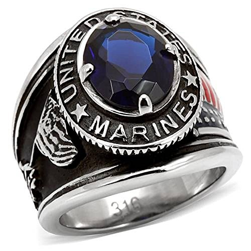 isady-us-marines-ryan-mens-ring-stainless-steel-cubic-zirconia-blue-size-w