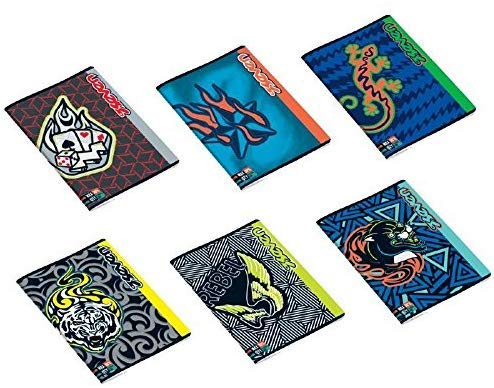 5 maxi a4 quaderni quadretti 5mm seven boy quadernone quadretti con margini elementari medie superiori fogli 80gr fantasia assortiti 21x29,7cm copertina 250gr max quantità