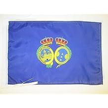 BANDERA de la PROVINCIA DE HUELVA 45x30cm - BANDERINA HUELVA ENANDALUCÍA 30 x 45 cm cordeles - AZ FLAG