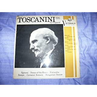 VIC 1010 Asturo Toscanini By Request NBC Symphony Orchestra LP