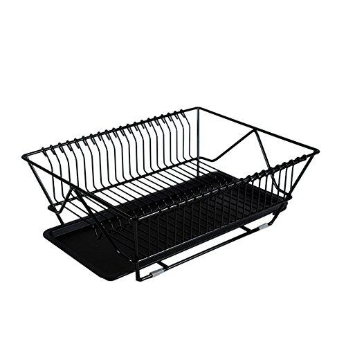 Organizador de cocina Escurridor estante de platos y vasos escurreplatos  para utensilios de cocina gran capacidad 0d51387c2cf0