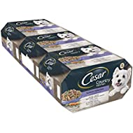 Cesar Country Kitchen Wet Dog Food for Adult dogs 1+ Special Selection in Gravy, pack of 3 ( 3 X 8 trays X 150g ).