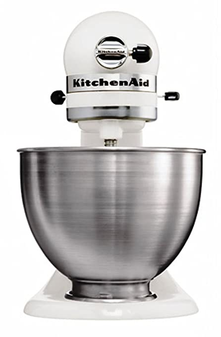 Kitchenaid 5K45SSEWH Robot Mixer Multifunzioni, colore: Bianco ...