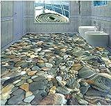 3D Boden wandbild Stereoskopischer Stein des Fotobodens 3d wasserdichter Bodenwandanstrich Custom Photo selbstklebender Boden 3Dboden wandaufkleber