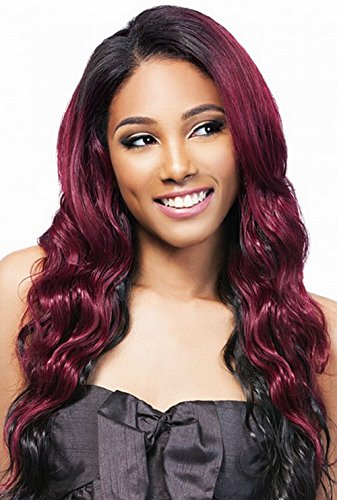 Outre Batik galons de Duo – Tahitian Bundle Hair 5pcs – (4 Pack complet) Weave