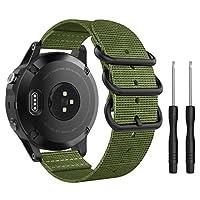 Compatibilità: Progettato su misura per il tuo preziosoGarmin Fenix 5/5 Plus/Instinct/Forerunner 935/Approach S60, questo MoKo Watch cinturino presenta una combinazione di funzionalità e stile.Descrizione del prodotto: * Personalizza i...
