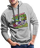 Photo de Tortues Ninja Donatello Raphael Leonardo Michelangelo Sweat-Shirt à Capuche Premium pour Hommes par Spreadshirt