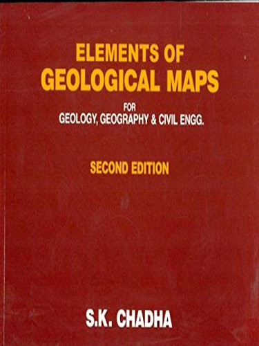Elements Of Geological Maps For Geology Geography And Civil Engg 2Ed (Pb 2020)