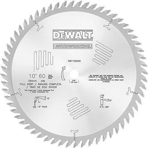 Dewalt dw71060a525,4cm 60Z X-5° ATB Kreuz Schnitte FK