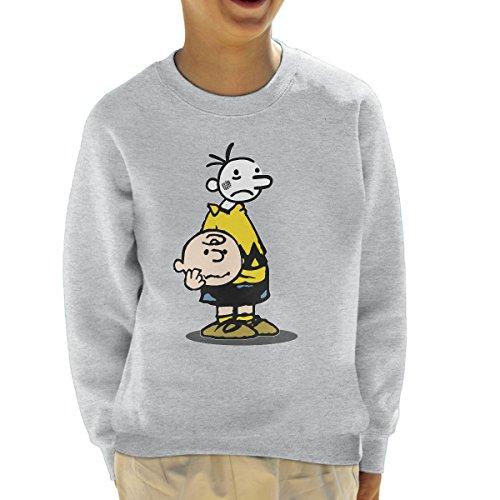 Wimpy Chuck Charlie Brown Kid Peanuts Kid's Sweatshirt