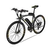 GTYW Elektrisches Fahrrad Männliches/Weibliches Fahrrad-Rennrad 240W * 36V * 10ah-20ah 100km Kraft-Leben Kohlenstoffhaltiger Steel,A-36v15ah