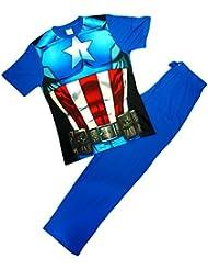 Marvel - Ensemble de pyjama - Homme Bleu Bleu X-Large