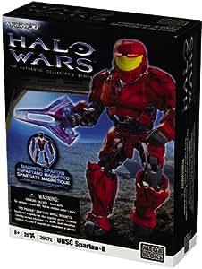 Mega Bloks – Halo Wars Magnétique – UNSC Flame Marine – Soldat Marine Lance-Flammes – 27 Pièces