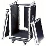 DAP Flightcase 19' Rack, 16HE, mit Topload