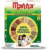 Manna Multigrains Health & Nutrition Drink - 500g (No Added Sugars & Preser