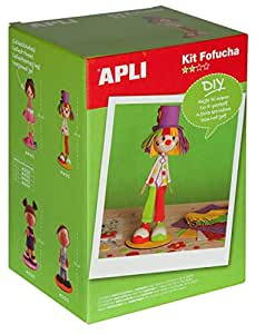 APLI Kit mousse EVA Poupée Fofuchas - Clown