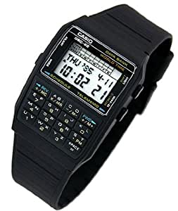 casio dbc 62 1z 50 memoires world time montre calculatrice montre homme quartz. Black Bedroom Furniture Sets. Home Design Ideas
