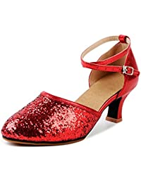 029f0e6c2b803 Amazon.co.uk: Red - Mary Janes / Women's Shoes: Shoes & Bags