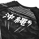 In addition to bringing a touch of modernity and aggression to your look, the Okinawa 2.0 rashguard offers maximum muscle support thanks to the Venum compression technology. The compression system helps reduce muscle stress and fatigue by putting con...