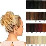 Elasticated curly hair scrunchie wrap around hair piece Various colours