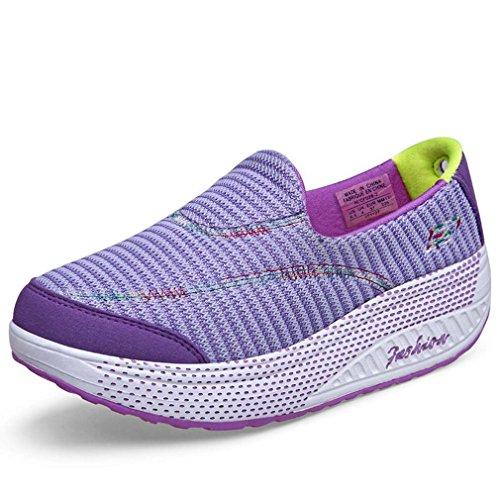 Solshine , Baskets pour femme Violet - Violet