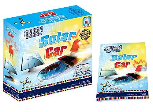 Science 4you solar Auto Oxford Edition Educación Ciencia juguetes manillar-16de juguete cara libro teñida con instrucciones detalladas y la información científica-Edad: 8+-Experimentos: 4-fotovoltaicos-Luces LED (apertura).