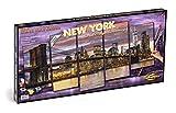 Schipper 609450806 Malen nach Zahlen-New York in der Morgendämmerung, 132 x 72 cm
