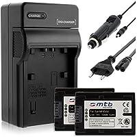 2 Baterìas + Cargador (Coche/Corriente) para Sony NP-FV50 / DEV-, DCR-, HDR-, NEX-...ver lista!