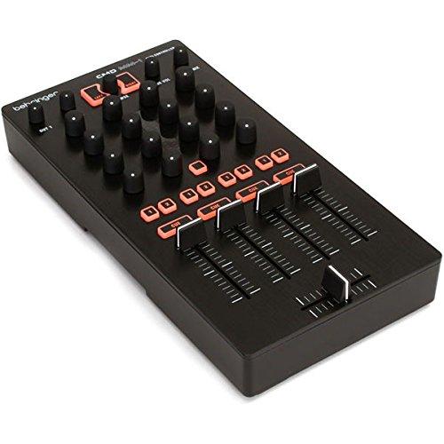 Behringer ZB768 CMD MM-1 Mixer-4 Kanal DJ Midi Controller