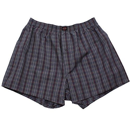 3er Pack Web-Boxer Shorts für Herren auch in Übergröße Nr. 436 ( 9 (XXXL) ) - 4