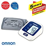 #3: Omron Automatic Blood Pressure Mointor HEM-7124 With Omron Digital Thermometer MC-246 (Health Care Combo Pack)