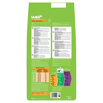 Iams ProActive Health Complete and Balanced Dog Food with Chicken for Sterilised and Overweight Dogs All Breeds, 12 kg 2