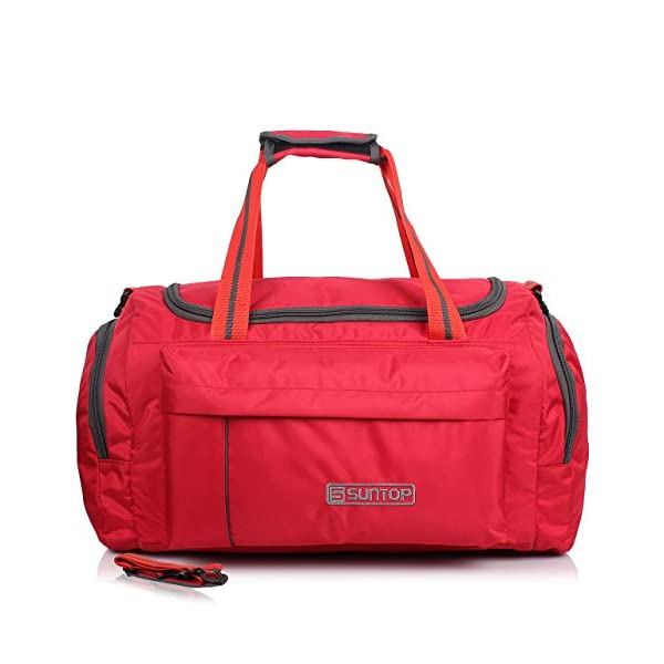 Suntop Alive Nylon 40 LTR Travel Duffle | Travel Bags | Duffle Bags for Travel | Gym Bags