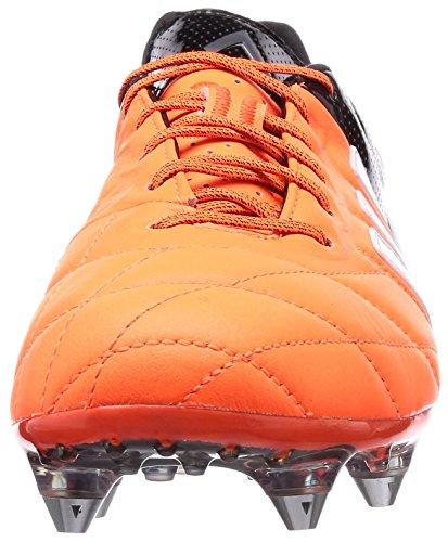 adidas Ace15.1 Sg Leather, Chaussures de football homme Orange - Orange (Solar Orange/Ftwr White/Core Black)