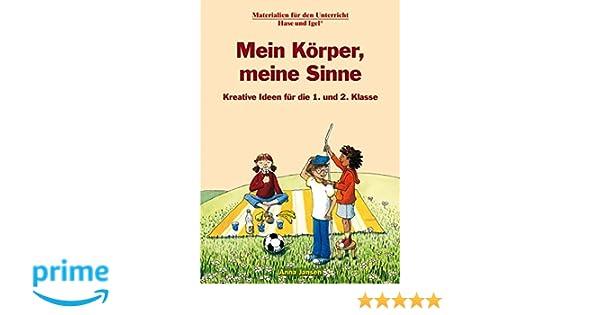 Mein Körper, meine Sinne 1./2. Klasse: Amazon.de: Anna Jansen: Bücher